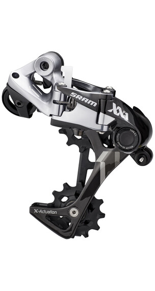 SRAM XX1 Typ 2.1 gear 11-speed langt bur sort